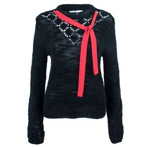 Sweaters - Vintage Holiday Sweater with Ribbon